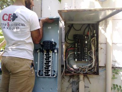 change repair upgrade panel breaker box